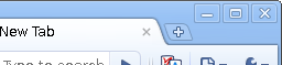 Right of Chrome Titlebar when not maximised