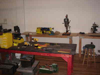Drill presses and other heavy equipment