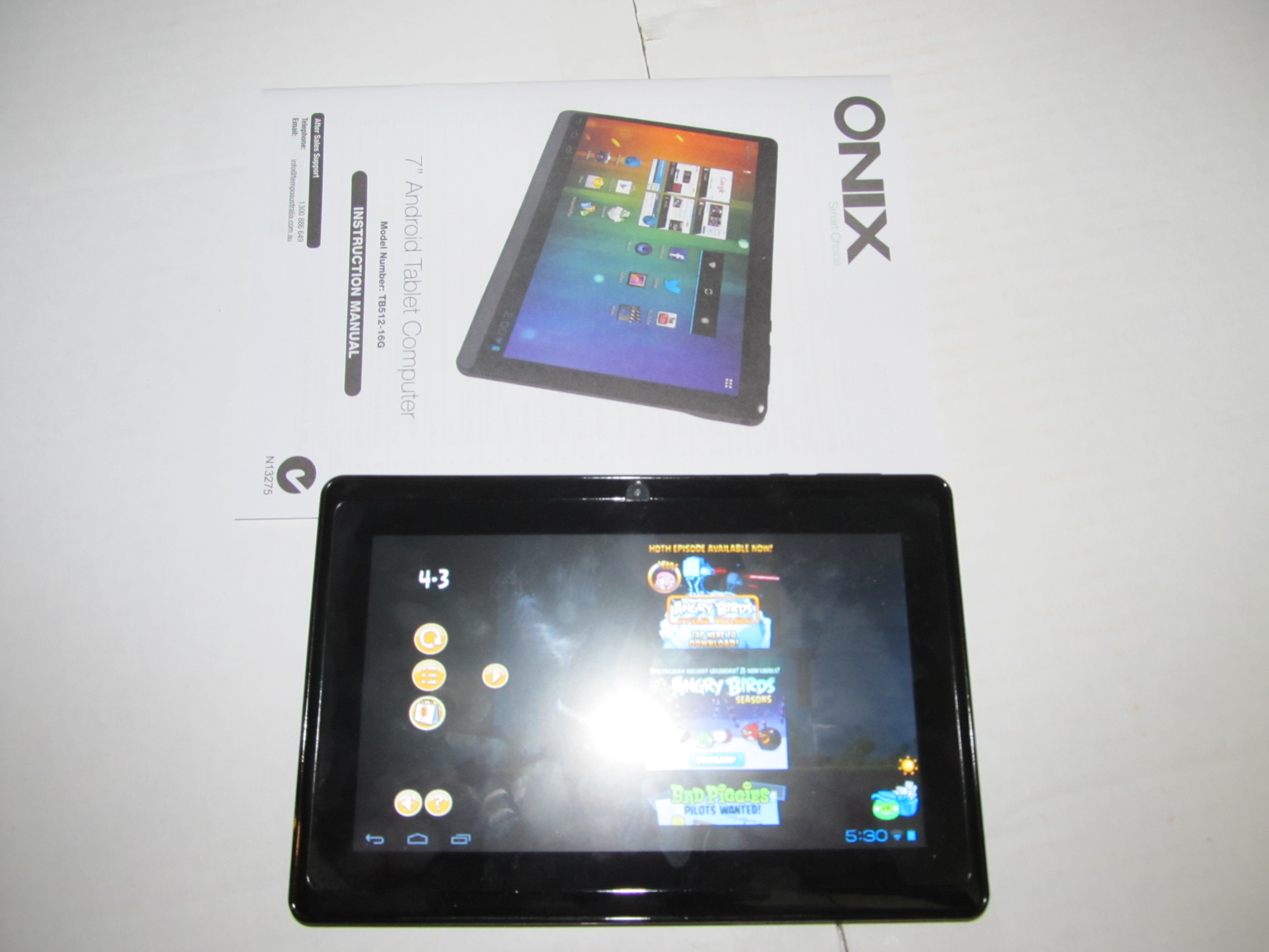"""Android 4. 0 tablet pc manual/9"""" digital touchscreen car pad with."""